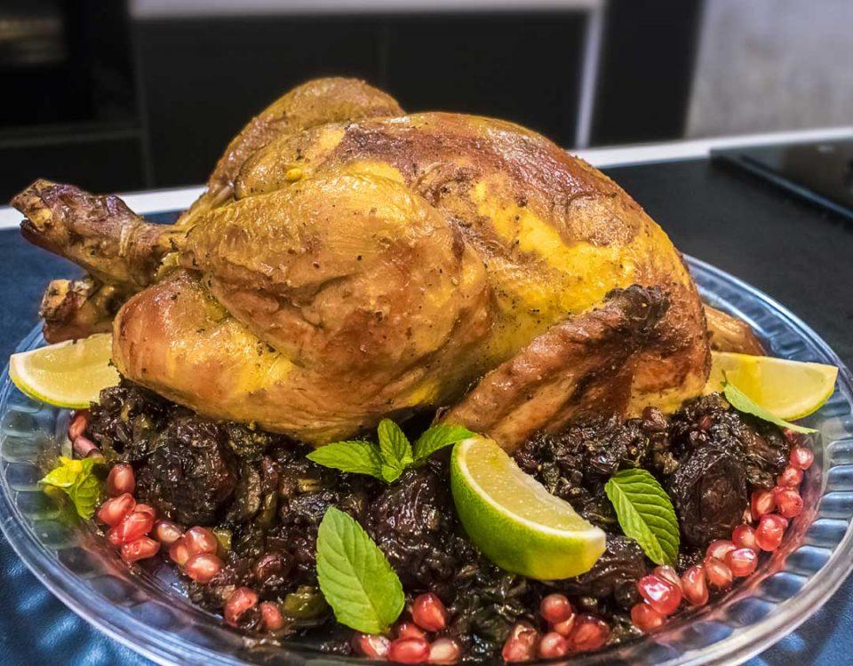 آموزش مرغ شکم پر