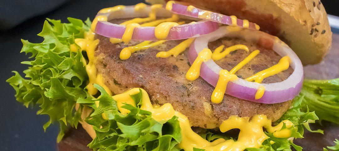 آموزش همبرگر گیاهی