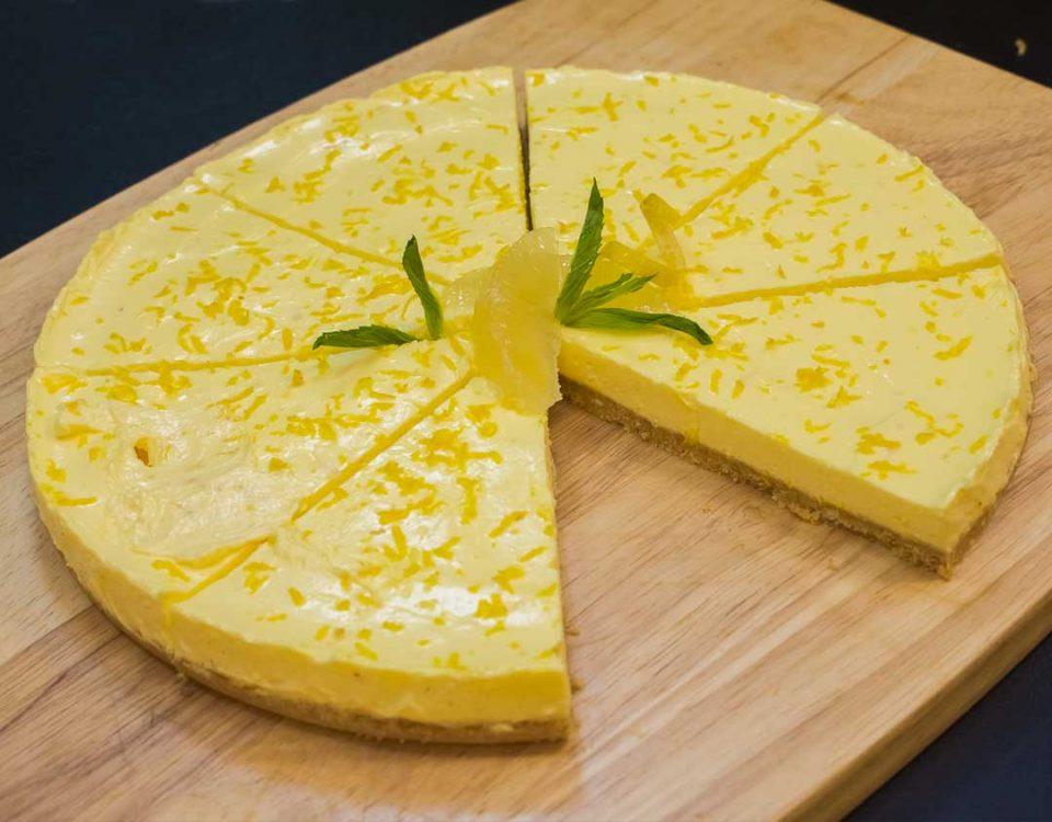 آموزش چیزکیک لیمویی