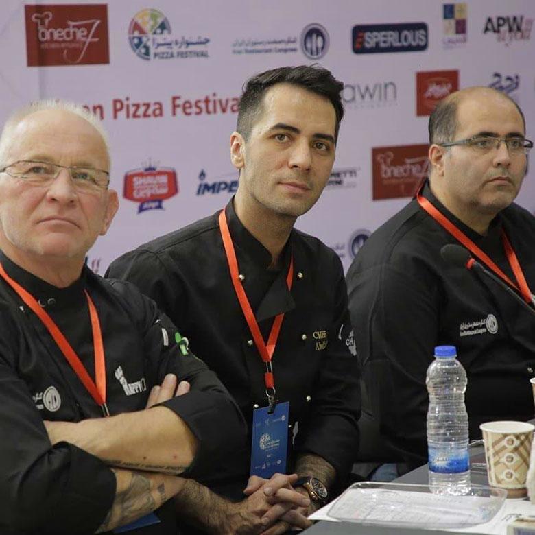 شف ابوالفضل جعفری داور جشنواره پیتزا